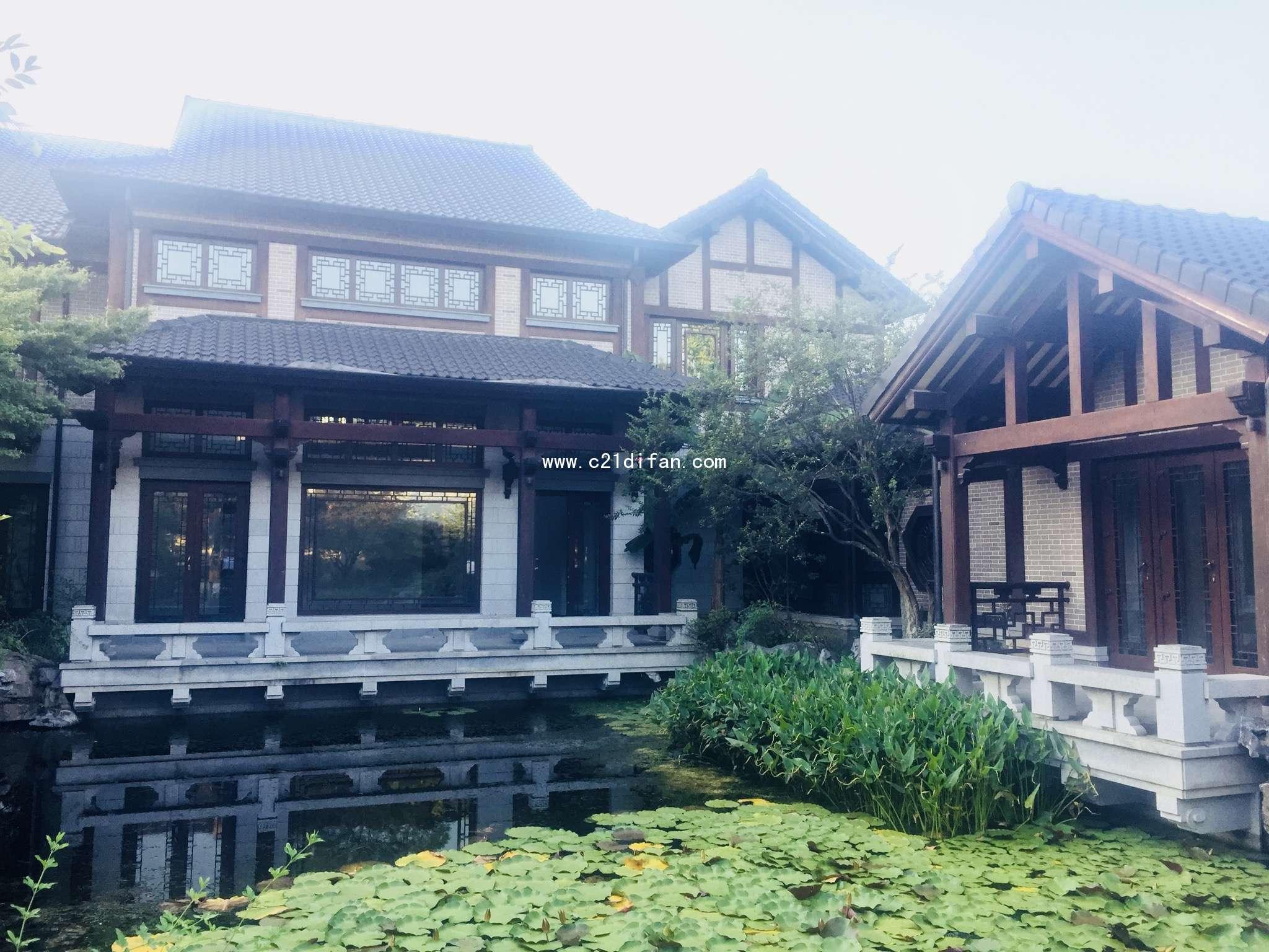 占地3.5亩的中式宅院别墅 空间布局大方 端庄 帝凡为您优选