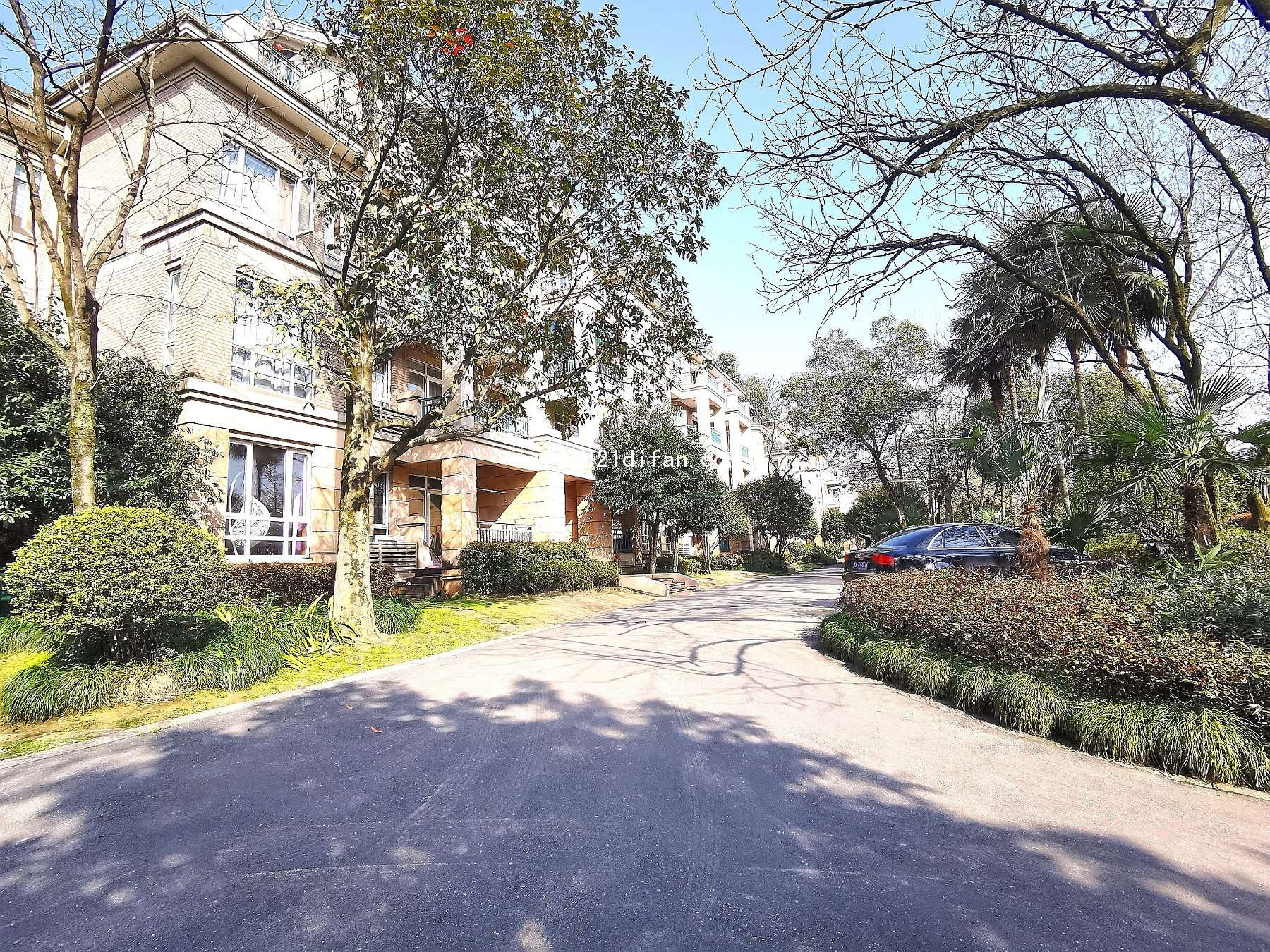 绿城桃花源,公寓的价格,别墅式的享受及服务